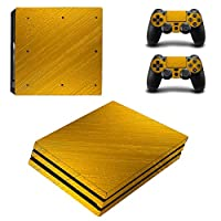 Zhhlaixing ステッカー Vinyl Decal Cover for PlayStatio PS4 Pro Console+Controllers ZY0009#