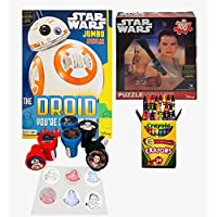 STAR WARS Coloring Book ,パズルandアクティビティStamperセット – Include 1 Coloring Book ( 96ページ、Star Warsパズル、24 Crayolaクレヨンand 6 Stampers