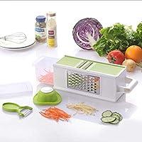 野菜チョッパー、多機能チョッパー、ポテトおろし器、キュウリ細断スライサー