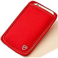 SYB携帯電話ポーチ、携帯電話EMF(電磁波)防護ポケット8.3㎝幅までの携帯電話用
