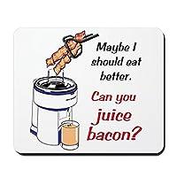 CafePress–ジュースBacon ?–ノンスリップゴムマウスパッド、ゲームマウスパッド
