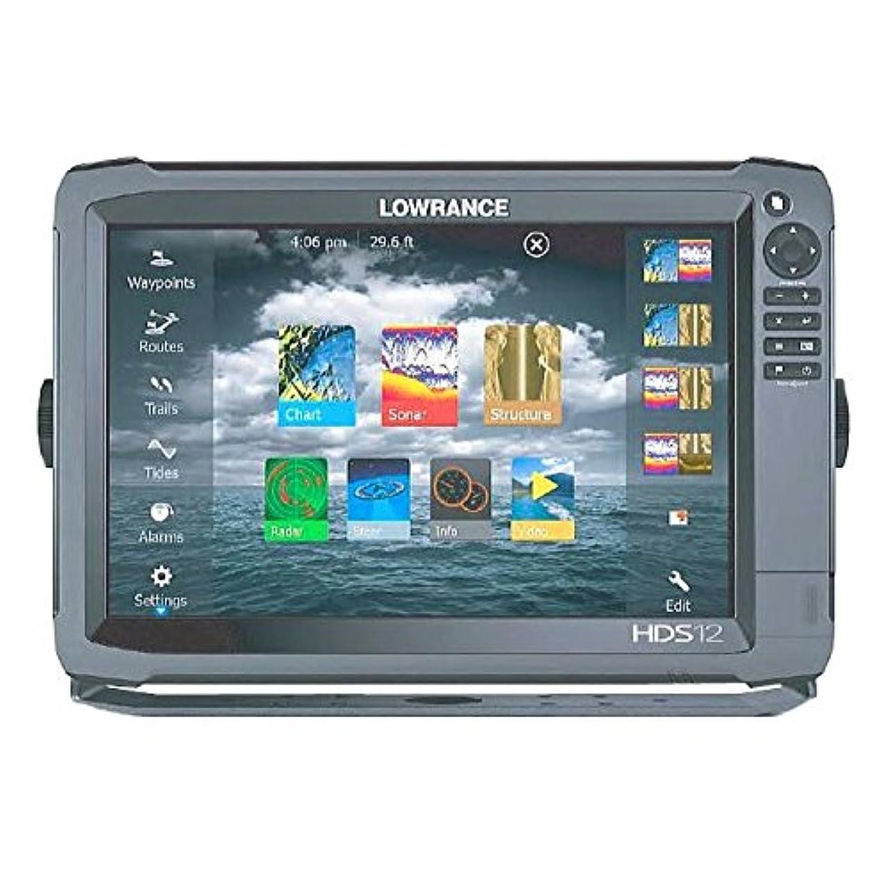 現在インセンティブマーカー【LOWRANCE/ロランス】HDS-12 Gen3 Touch 全国簡易海図AT5付き 魚群探知機