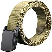 Phoenix Wonder Army Green Mens/Boys Canvas Belts Bales Catch Informal Men Belt Casual Knitting
