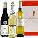フランスワイン 3本セット スパークリング ボルドー白ワイン ラングドック赤ワイン 750ml×3