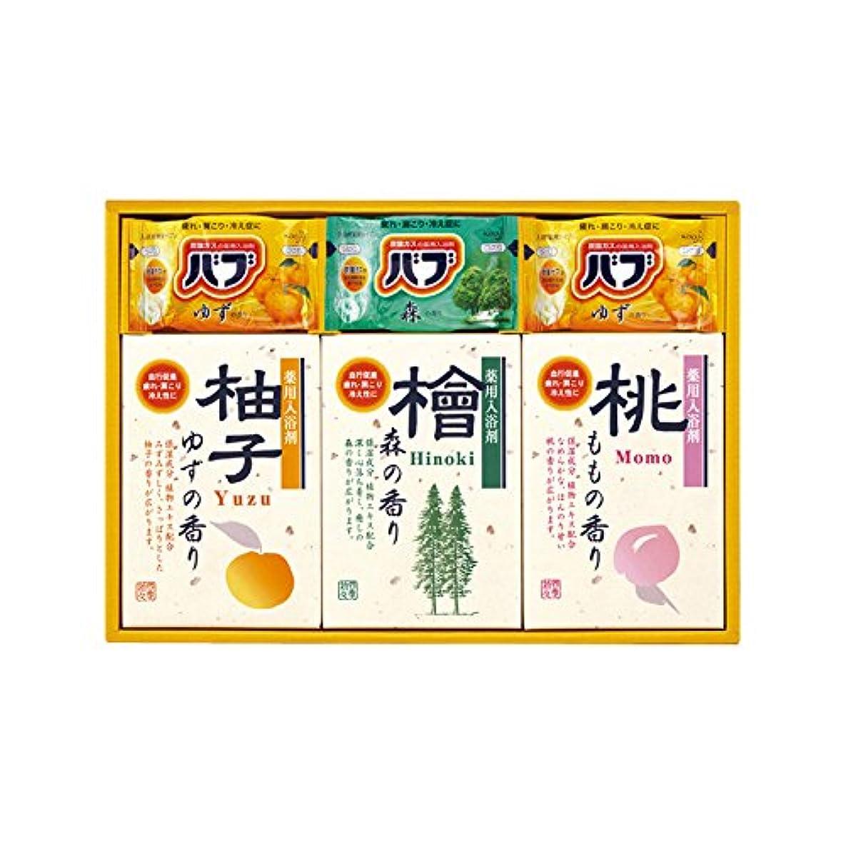調和のとれた気質アレルギー四季折々 薬用入浴剤セット SB-15 7163-023