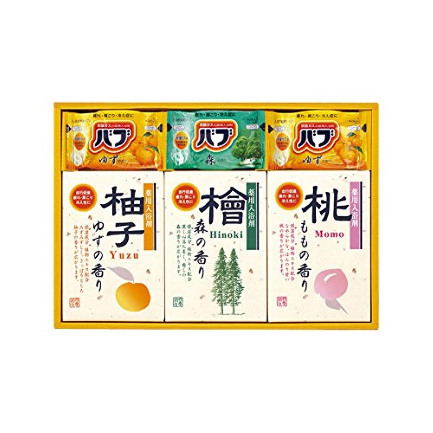 コック珍味仮装四季折々 薬用入浴剤セット SB-15 7163-023