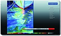 Staedtler Karat Aquarellプレミアム、水彩鉛筆48色のセット、(125m48) by Staedtler