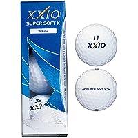 DUNLOP(ダンロップ) 2017年モデル ゼクシオ SUPER SOFT X ゴルフ ボール 1スリーブ(3個入) ホワイト