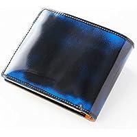 Parley 二つ折り財布(小銭入れ付き) パーリィー 小銭入れ付 牛革キップ パーリィークラシック 天然革 手作り 日本製 メイドインジャパン MADE IN JAPAN ロイヤルブルー