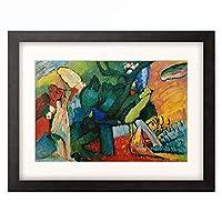 ワシリー・カンディンスキー Wassily Kandinsky (Vassily Kandinsky) 「Improvisation No. 4」 額装アート作品