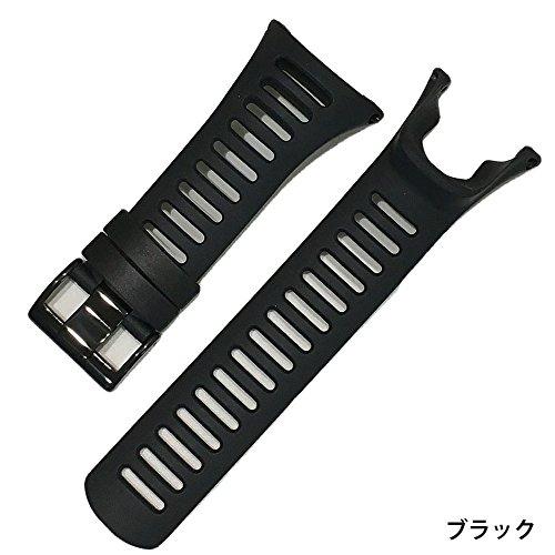 monoii SUUNTO AMBIT ラバー ベルト スント 腕時計 バンド ストラップ AMBIT1 AMBIT2 AMBIT3 AMBIT4 対応 b266