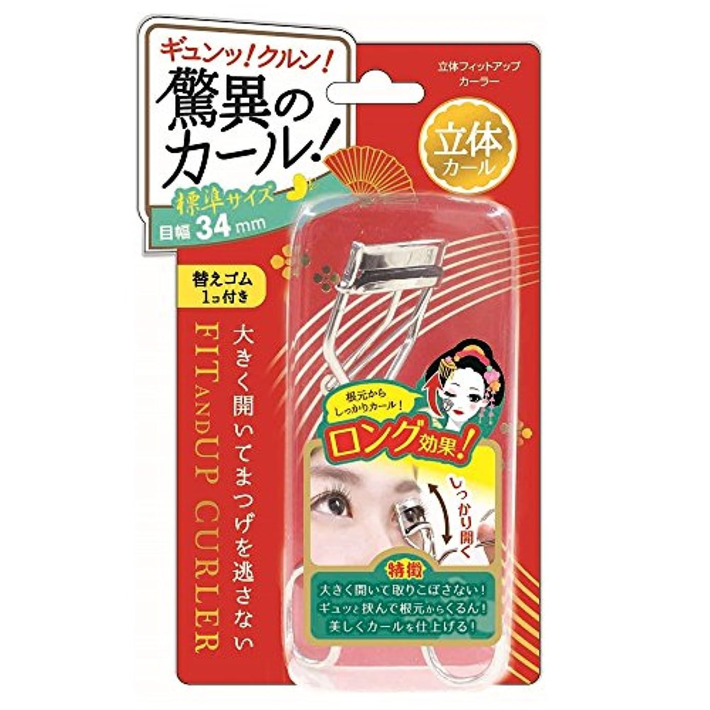 ボード示すドラマ立体フィットアップカーラー【FUC681】