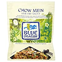 Blue Dragon Stir Fry Sauce - Chow Mein (120g) ブルードラゴン炒め醤油 - 焼きそば( 120グラム)