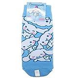 子供用 靴下 キャラクター 各種 soxk (約13~18cm, シナモロール(水色))srsoc1145j