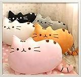 【ELEEJE】お部屋の インテリアにも 最適 フワフワ 柔らか かわいい ネコ クッション