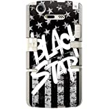 CaseMarket 【ポリカ型】 docomo MEDIAS X N-07D ポリカーボネート素材 ハードケース [ Black American BLACK STAR ]
