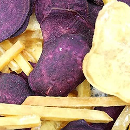 大地の生菓 野菜チップス 500g 大容量 業務用 おかし お菓子 おやつ おつまみ 珍味 手土産 ギフト ドライフルーツ ギフト (3種類の芋チップス 500g)