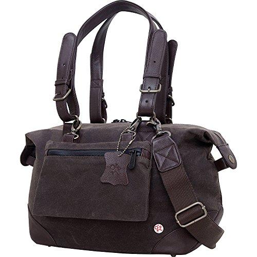 トーケン バッグ スーツケース Lafayette Waxed Duffel Bag (XS) Dark Brown [並行輸入品]