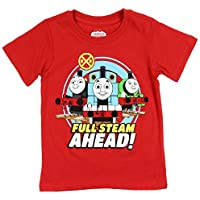 Thomas the Tank and Friends Little Boys' Toddler Full Steam Ahead Tee