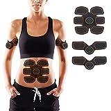 EMS 腹筋 ベルト ダイエット 腹筋トレーニング 筋トレ シックス パット 腹筋パッド 充電式 10段階調節 6モード 男女兼用