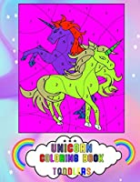 Unicorn Coloring Book Toddlers: Unicorn Activity Coloring Book