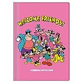 サンスター文具 ディズニー 手帳 2020年 B6 マンスリー スタンダード 集合 S2949326 2019年 10月始まり