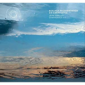 シベリウス : 交響曲全集(Jean Sibelius : Symphonies 1-7 / Berliner Philharmoniker   Sir Simon Rattle) [5SACD Hybrid] [輸入盤] [日本語帯・解説付]