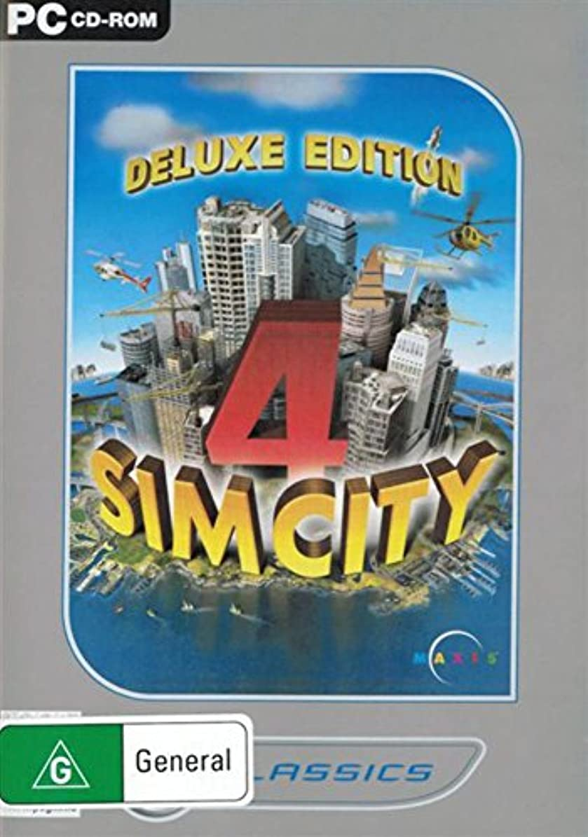 隠同情知人シムシティ4 デラックスエディション(SIMCITY4 Deluxe edition )