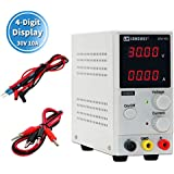 110V/220V 30V 10A Switching Regulated Adjustable DC Power Supply Variable,Precision 00.01V,00.01A, 4-Digital LED Display Adjustable Switching Regulated Power Supply Digital,with Alligator Leads AU Power Cord Used for Spectrophotometer and lab Equipment Repair