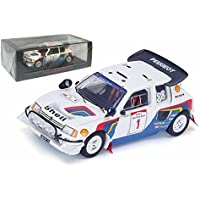 プジョー205ターボ16 ev2 # 1 Safari 1986樹脂モデルカーin 1 : 43スケールby Spark