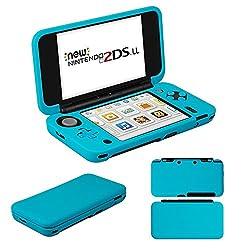 MaxKu Newニンテンドー2DS LL シリコンカバー 一体型 水洗可能 ソフトカバー 全面保護 高品質 着脱簡単 Nintendo 2DS LL シリコンプロテクタケース (ブルー)