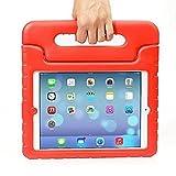 iPad 2/ 3/ 4ケース–Travellor Kidsライト重量Kidoシリーズマルチ関数ConvertibleハンドルキックスタンドKids Friendly保護耐衝撃カバーwithスタンド&ハンドルfor Apple iPad 2/ 3/ 4 iPad 2/3/4 レッド