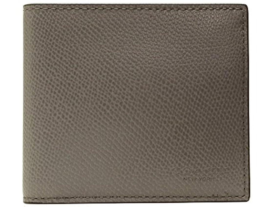 トリッキー逆に広がり[コーチ] COACH 財布 (二つ折り財布) F74981 アッシュ ASH レザー 二つ折り財布 メンズ [アウトレット品] [並行輸入品]