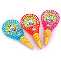 Yiping子供教育玩具子供の教育アウトドアButtボールスポーツトイElastic Throwボールおもちゃラケット