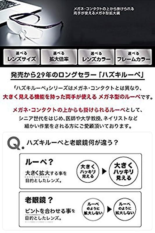 Hazuki 《하즈키》 쿨 클리어 렌즈 1.32배(검정・빨강・보라색・흰색)