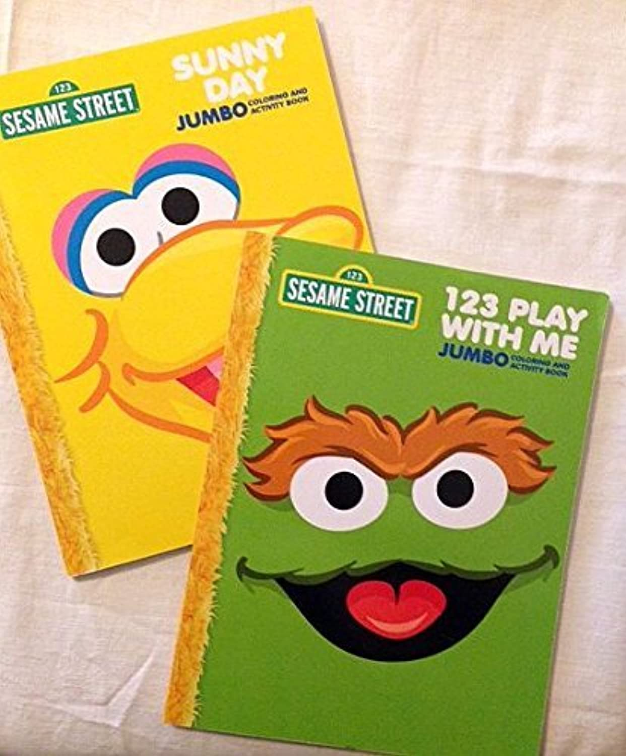 Sesame Street Coloring Activity Books - 96 Pages - 2 Pack - by Sesame Street [並行輸入品]