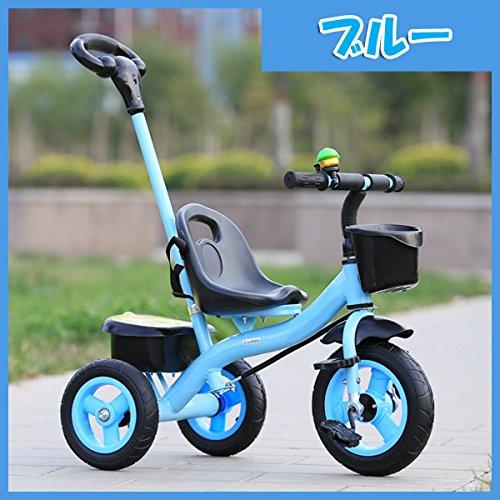 ベビーカー 軽便児童車 子供トロッコ 簡易三輪車 児童軽量三...
