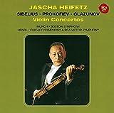 シベリウス、プロコフィエフ&グラズノフ:ヴァイオリン協奏曲 画像