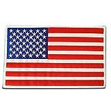 アメリカ 国旗 アイロン ワッペン (BIG 約210x130mm)