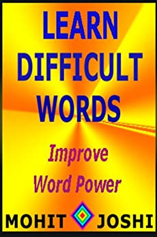 Learn Difficult Words by [Joshi, Mohit]
