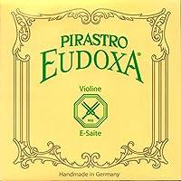 Pirastro Eudoxa 4/4 Violin E String - Medium Gauge - Aluminum-Steel - Ball-End [並行輸入品]