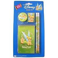 Disney Tinkerbell Tinker bell Study kit : 5 pcs School accessories by Disney [並行輸入品]