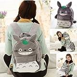 大人気 スタジオジブリ となりのトトロ リュックサック Neighbor Totoro Cartoon Soft Plush Backpack [並行輸入品]