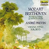 Mozart, Beethoven: Piano And Wind Quintets In E flat by Andre Previn (1990-01-01)