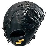 SSK(エスエスケイ) ソフトボール ソフトボールミット ソフトボールゴッドナイン 捕手・一塁手用 GNSF8030 90(ブラック) L(右投げ用)