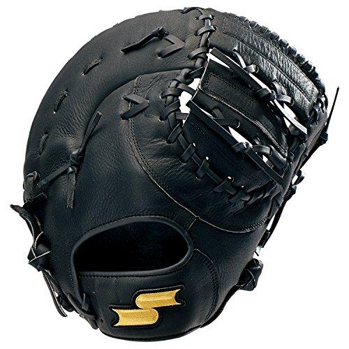 SSK(エスエスケイ) ソフトボール ソフトボールミット ソフトボールゴッドナイン 捕手・一塁手用 GNSF8030 90(ブラック) R(左投げ用)