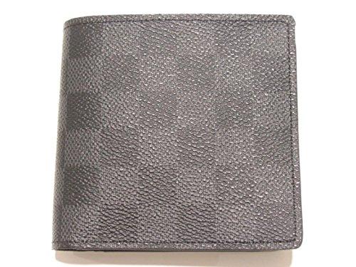 [ルイヴィトン] LOUIS VUITTON ポルトフォイユ・マルコ 二つ折り財布 財布 ダミエ・グラフィット ダミエ・グラフィット N63336 [中古]