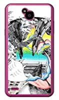 SECOND SKIN kion 「天(そら)へと続く深海01」 (クリア) / for Disney Mobile on docomo DM-02H/docomo DLGD2H-PCCL-201-Y722