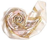 .Y 横浜 スカーフ シルク スカーフ 正方形 エルメス柄 スカーフ 母の日 くつわエルメス