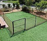 DAIMオリジナル ドッグラン 高さ90cm お庭を囲むことができるロングサイズです。 愛犬のドッグランはもちろん、小動物の侵入防止にも使える! (本体+ドア)